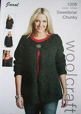 Ladies Knitting Pattern Chunky    [ Jarol 1006 ]