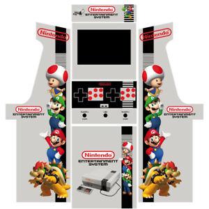 Stickers borne arcade - Modèle Nintendo SNES