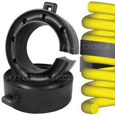 26-38mm Car Caravan Towing Rear Suspension Coil Spring Rubber Spacers Assisters