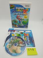 Super Mario Galaxy 2 (Nintendo Wii, 2010) Complete with Booklets, No Scratches!