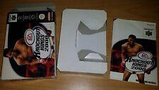 Knockout Kings 2000 Nintendo 64 N64 PAL nur Anleitung Box Manual only