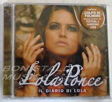 LOLA PONCE - IL DIARIO DI LOLA - CD Sealed