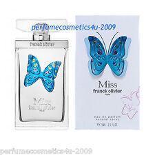 MISS FRANCK OLIVIER PERFUME FOR WOMEN 2.5 OZ / 75 ML EAU DE PARFUM SPRAY NIB