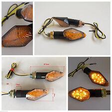FC1038 2 FRECCE NERE a LED OMOLOGATE per MOTO BIMOTA