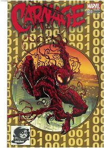 Carnage 1 Todd Nauck Phantom Gold McFarlane Spider-Man 301 Homage Variant NM