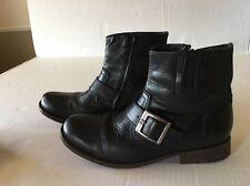 GBX Bono BT Belt Boots Men's Sz 8.5 Leather Vero cuoio lau Artigiana Vintage