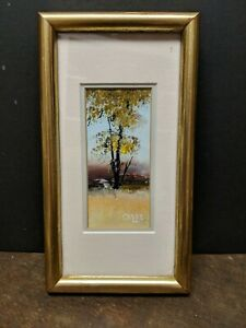 SERGE PAQUE Original Signed acrylic/oil painting  noted Canadian artist