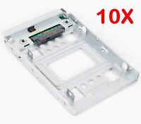 "10X 2.5"" SSD to 3.5"" 654540-001 Converter HDD Tray Caddy Hard Disk Drive Adapter"