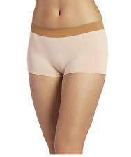 Jockey Women's Underwear Modern Micro Seamfree Boyshort,Beige,Size:5