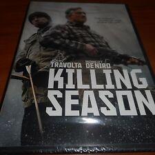 Killing Season (DVD, Widescreen 2013) Robert De Niro NEW John Travolta OOP