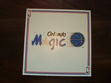 Early 90's Nba Official Licensed Product Display Sign Orlando Magic