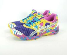 Asics Gel Noosa Tri 7 Running Training Shoes Purple Yellow T264N Womens Size 8