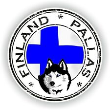 Seal Sticker of Finland Pallas Stamp Bumper Roundel Truck Laptop Car