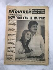 National Enquirer February 11 1973 Keys to Happiness Vintage Tabloid Newspaper