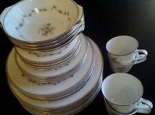 Noritake WOODLEY 6783 JAPAN porcelain dinner set 26 pce