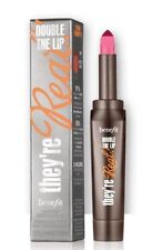 Benefit They're Real Double the Lip Lipstick  Liner In One Pink Thrills New Box