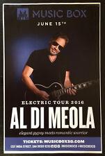 Al Di Meola music PROMO POSTER  11 X 17