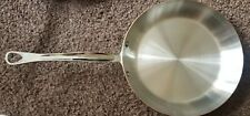 """MAUVIEL 1830 Copper and Stainless Steel Frying Pan - 10.5"""" New never used"""