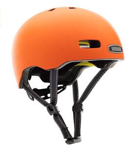 Nutcase Street Bike Helmet  In HI VIZ SOLID MATTE SZ  SMALL NWT