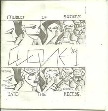 CLONE '81 - PRODUCT OF SOCIETY /INTO THE RECESS - INDIE GARAGE 80s DIY POST-PUNK