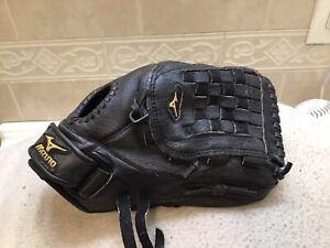 """Mizuno MMX-122P 12"""" Youth Baseball Softball Glove Right Hand Throw"""