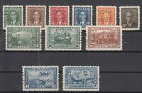 Y4642/ CANADA – OFFICIAL – 1939 / 1949 MINT SEMI MODERN LOT – CV 265 $