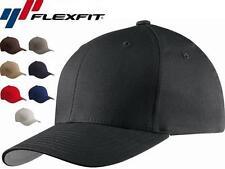 5001 Flexfit V-Flexfit Cotton Twill Fitted Baseball Blank Plain Hat Cap Flex Fit