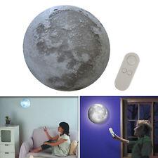 Romantic LED Healing Moon Lamp Wall Night Light Remote Control Bedroom Decor UK