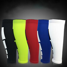 Leg Compression Sleeve Breathable Basketball Running Pain Relief Shin Splints D9