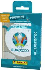 Euro 2020 Preview ~ Panini Sticker Collection ~ Mini Tin Inc 10 Packs Stickers