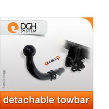 Detachable towbar hook Peugeot 307 SW estate 2005 onwards