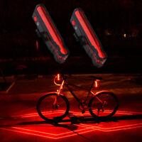 Bike Cycling Signal Rear Light Spiderman Laser TailLight Warning Lamp Waterproof