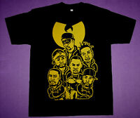 Wu tang Gambinos shirt  love black yellow air jordan 1 bmp wear vtg Cajmear rap