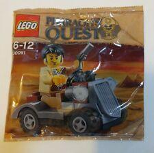 Lego 30091 Pharaoh's Quest Desert Rover & Jake Raines Brand New Factory Sealed