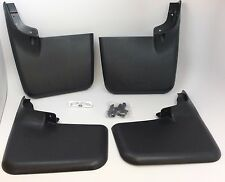 Ford F-150 Front & Rear Styleside Mud Flaps without Wheel Open Moulding new OEM
