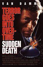 SUDDEN DEATH (1995) ORIGINAL MINI 11 X 17 MOVIE POSTER  -  ROLLED