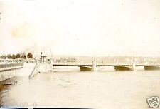 photo ancienne . vue de Genève . Suisse .  1896