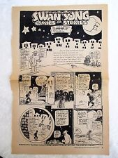 1977 DAN O'NEILL'S SWAN SONG and APOLOGY to HERB CAEN Comic Strip ODD BODKINS