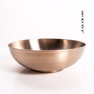 [by Artisan Jin-Ho Lee]Korean Bangjja Yugi Bowls - Noodle/Salad Large type3