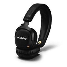 Auricolari e cuffie nere Marshall con Bluetooth Wireless