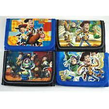 Toy Story Woody Kid Boys Filler TRIFOLD Wallet Purse Coins Bag buzz lightyear