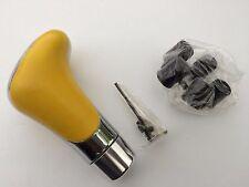 Apc Chrome/Yellow Shift Knob Heavy Cast Aluminum Manual Transmission