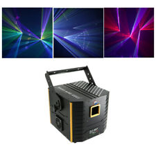 5W RGB Animation Laser Projector DMX ILDA Home Party DJ TF Card Stage Lighting