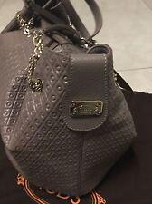 TOD's Tasche Handtasche Leder Braun Natur Taupe signature shopping Bag Neu