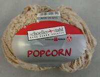 (59 €/kg): 350 g POPCORN,Schoeller+Stahl, Fb. 005 beige, Effektgarn  #3017