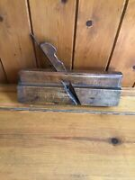 Antique Vintage Carpenters Wooden Wood Moulding Plane - Greenslade Bristol