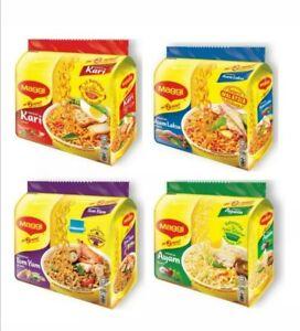 COMBO MAGGI 4 FLAVOUR PER BOX ( 20X77gram) Curry, Tom yum, Chicken, Asam Laksa