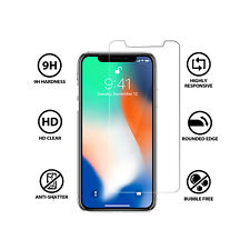 iPhone X (IPhone 10) Premium Tempered Glass Screen Protector 9H 0.26mm 3D
