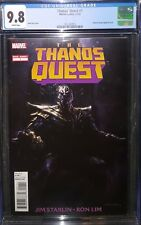 THANOS QUEST ONE-SHOT CGC 9.8 INFINITY WAR AVENGERS END GAME COSMIC GHOST RIDER!