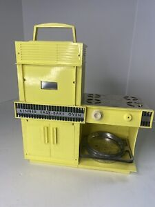 Vintage Kenner Yellow Easy Bake Oven with Pan 1964